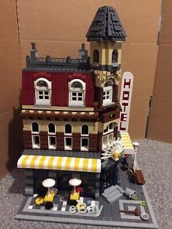 Lego Creator Expert 10182 Corner Cafe Complete 1 Sauf Couleur Remplacement