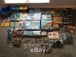 Lego Paquet Enorme De Lego Complet Dans Des Boîtes Et Des Couleurs En Vrac Lego Bloqué