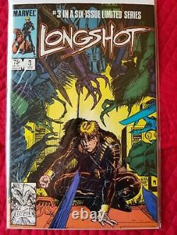 Longshot 1 2 3 4 5 6 Série Limitée Complète Arthur Adams First Mojo Marvel 1985
