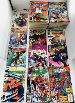 Lot De 127 Web Of Spider-man #1-1229 / Ensembles Complets Annuels #1-10 (-12) 1984