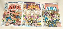 Lot De 25 Nova #1-25 Beaux Exemplaires Ensemble Complet 1ère Apparition 1976-1979 Marvel