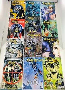 Lot De 39 Batman'66 #1-30 Courir / Rencontres Wonder Woman'77/ Oncle Ensembles Complets + 7