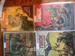 Lot Turok Ander Fils De Stone #3 59 Comics Séries Completes Set Golden Age Run