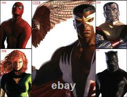 Marvel Comics Alex Ross Timeless Variante Set Complete 34 Couvertures! Tous Nm+