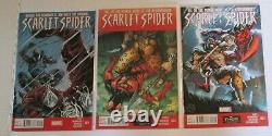 Marvel Scarlet Spider Kaine Complete 25 Numéro Comic Series Yost Carnage Keys 1er