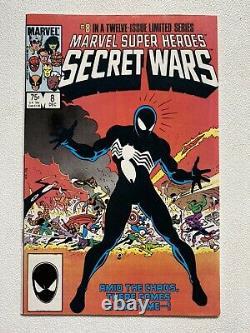 Marvel Super Heroes Secret Wars #1-12 Complete Set Avec Blue Galactus 1984 Series