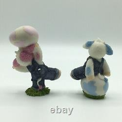 Mary's Moo Moos- #780723 Cows Of A Different Color 6 Figurines Complete Set