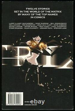 Matrix Vol 1 & 2 Trade Paperback Tpb Set Burlyman Neil Gainman Dave Dorman Film