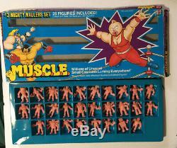 Mattel Originale 1985 M. U. S. C. L. E. # 1 # 2 # 3 # 4 Sets Complets # 1 & # 2 Jeux De Couleurs