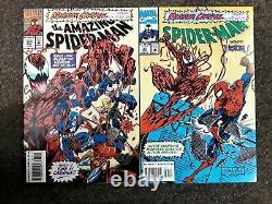 Maximum Carnage 1-14 Ensemble Complet Nm+ Marvel Comics 1993 Spider-man Venom