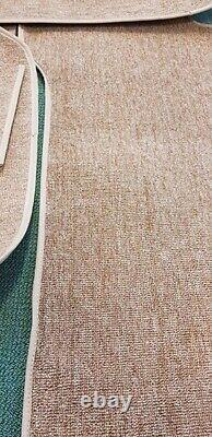 Mercedes Benz W114 W115 Berline Complete Loop Carpet Set 13 Pièces Couleur Beige