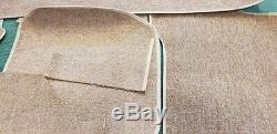 Mercedes Benz W114 W115 Sedan Complète En Boucle Tapis Set 13 Pièces Couleur Beige