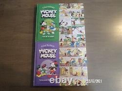 Mickey Mouse Comic Strip Books Floyd Gottfredson Ensemble Complet Avec Des Dimanches De Couleur