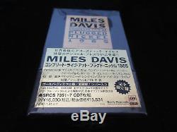 Miles Davis Coffret Numéroté 1996 Complet Branché Japan 7 Couleur Or
