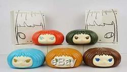 Nara Yoshimoto Gummi Fille 5 Couleurs Ensemble Complet Intérieur Objet Bonbons Nouveau Gummy