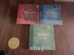 New Lord Of The Rings The Complete Recordings Collectors Colored Vinyl Set Rare