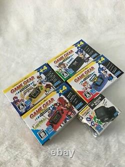 New Sega Game Gear Micro 4 Couleurs Console Complète Jeu + Fenêtre Big Micro Japon