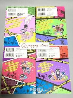 Nhabaka Vol. 1-8 La Langue Japonaise Comics Complet Ensemble Complet Manga Livre Comique
