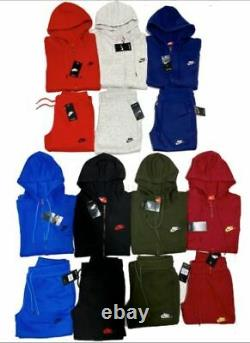 Nike Sweatsuit Complete Set Zip Up Hoodie And Joggers Fast Free Shipping