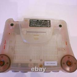 Nintendo 64 N64 Système Complet De Console De Jeu Rouge Clair Boîte De Jeu Propre À La Menthe Testée