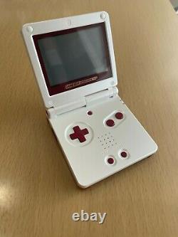 Nintendo Gameboy Advance Sp Famicon Console Couleur Ensemble Complet Box Japan