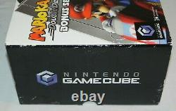 Nintendo Gamecube Mario Kart Double Dash! Bonus Set 100% Complet En Box