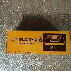 Nintendo Tv Couleur Jeu 6 Console Système Ctg-6v Nouveau Japon Ensemble Complet Utilisé