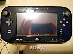 Nintendo Wii U 32 Go Black Console Deluxe Set Complete In Box + Zelda Wind Waker
