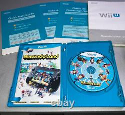 Nintendo Wii U 32 Go Console Noire Deluxe Set Avec Nintendo Land Complete