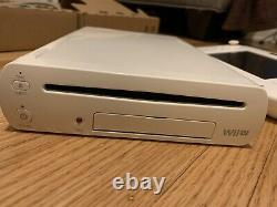 Nintendo Wii U Basic System Set Blanc 8 Go Console Complète Boîte Cib