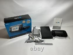 Nintendo Wii U, Wup-101, 32 Go, Console Deluxe Box Set Cib Complete Tested