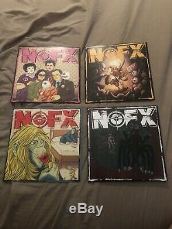 Nofx -7 Pouces Du Mois Du Club 2019 Complete Set Couleur Vinyle 7