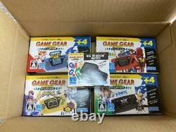 Nouveau Jeu Complet Game Gear Micro 4 Couleurs Avec Une Grande Fenêtre De Bonus Micro