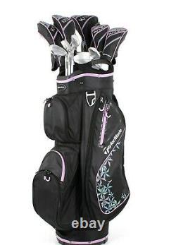 Nouveau Taylormade Kalea Women's Ladies Golf Club Ensemble Complet Choisissez La Couleur
