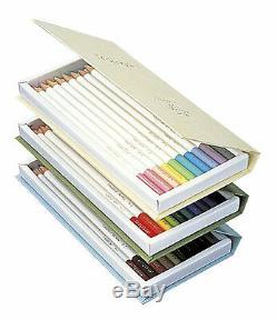 Nouveau Tombow Coloring Crayon Irojiten No. 1-3 Set Complet 90 Crayons Japon