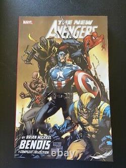 Nouveaux Avengers Bendis Collection Complète Ensemble Tpb 1 2 3 4 5