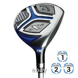 Nouvel Ensemble De Golf Complet Callaway Junior Xj3 Choisissez La Couleur Et La Dextérité