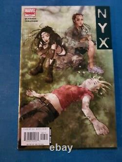 Nyx #1 2 4 5 6 7 2003 Marvel Comics Lot X-23 Compléter Votre Ensemble