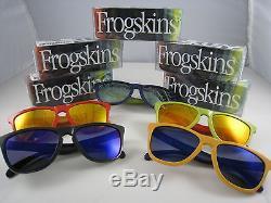 Oakley Frogskins Limited Edition Aquatique Ensemble Complet Des Cinq Couleurs