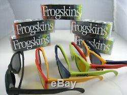 Oakley Frogskins Limited Edition Ensemble Complet De Aquatique Tous Les Cinq Couleurs