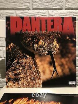 Pantera Discographie Complète Colored Vinyl Box Set Vg