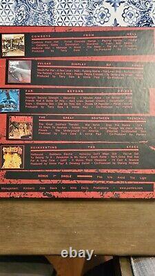 Pantera Discographie Complète Colored Vinyl Box Set (avec 7in. 45)