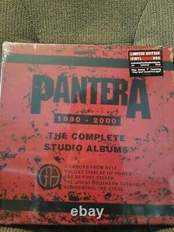 Pantera The Complete Studio Albums Boxed Set Limited Edition Colored Vinyl