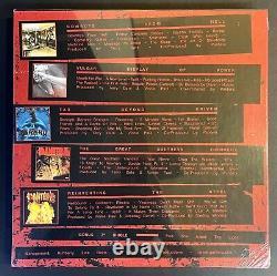 Pantera Tous Les Albums Studio 1990-2000 Seeled 5lp+7 Couleur Vinyl Box Set