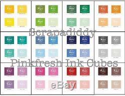 Pinkfresh Premium Studio Colorant Cubes Encreurs (set Complet) 12 Tous 48 Personnes Couleur