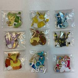 Pokemon Eevee Ichiban Kuji Colorful Art Complete Set Tous Les 24 Éléments Ensemble Complet