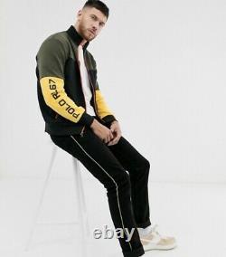 Polo Ralph Lauren Colorblock Mens Track Jacket + Sweat Pants Ensemble Complet XXL