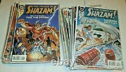 Pouvoir De Shazam! (1995) #1-47,48 + Gn Hc X-overs 100% Complet Capitaine Marvel