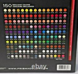 Prismacolor Premier Crayons Colorés Ensemble Complet De 150 Couleurs Assorties
