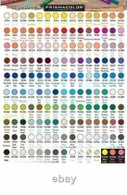 Prismacolor Premier Crayons De Couleur Ensemble Complet De 150 Couleurs Assorties Nouveau